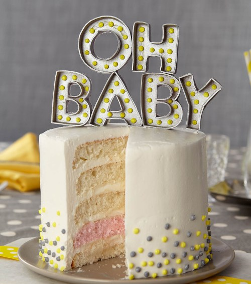 Medium Of Gender Reveal Cake Ideas