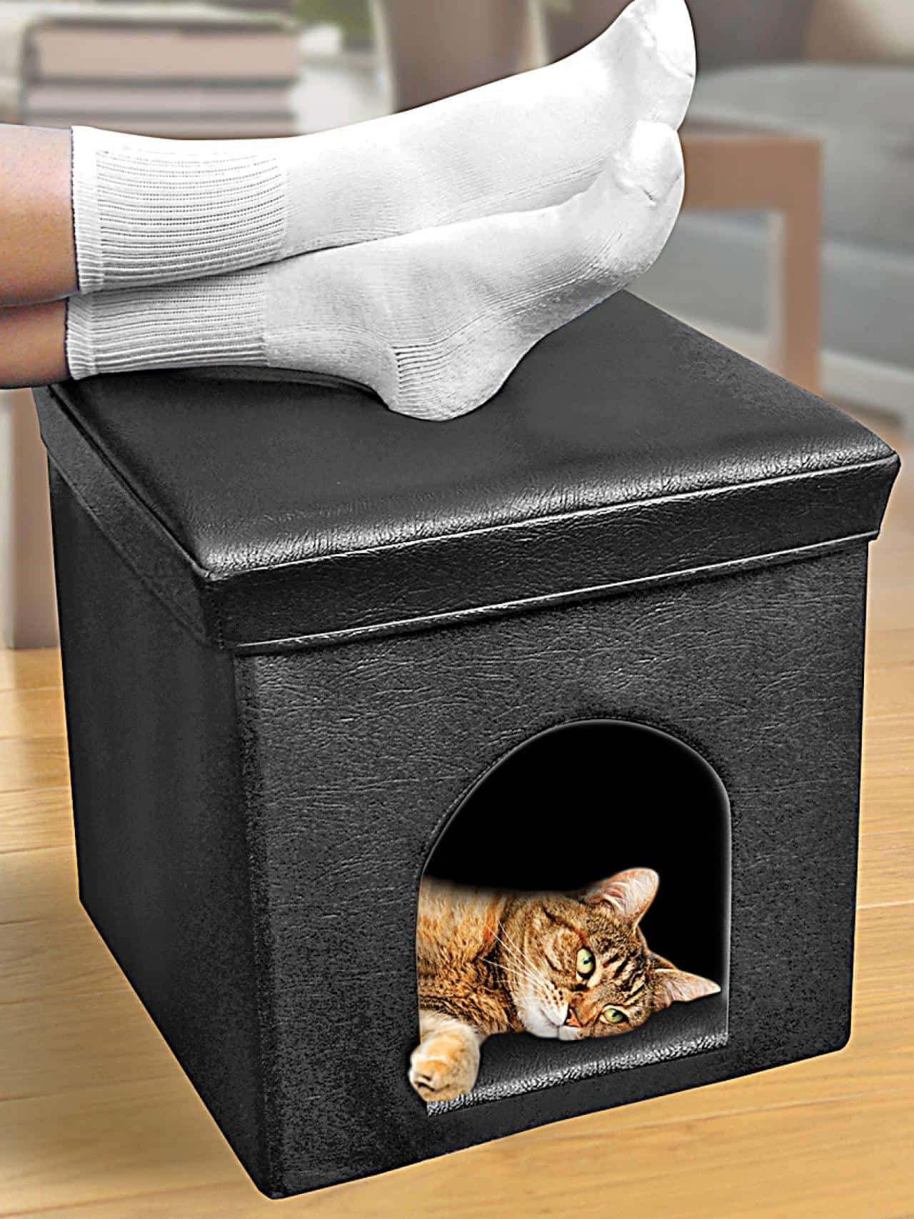 Cat Beds And Furniture Adorable Diy Projects For Cat Lovers