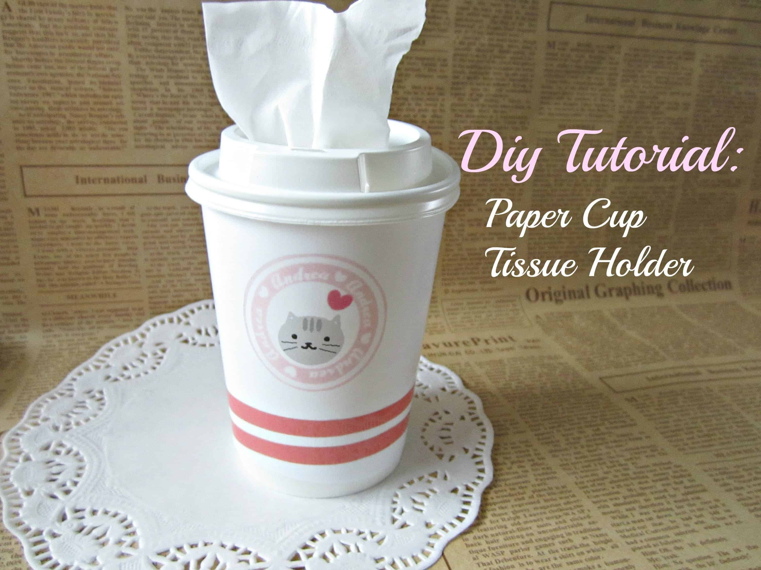 Toilet Paper Dispenser For Kids Crafts Made With Paper Cups