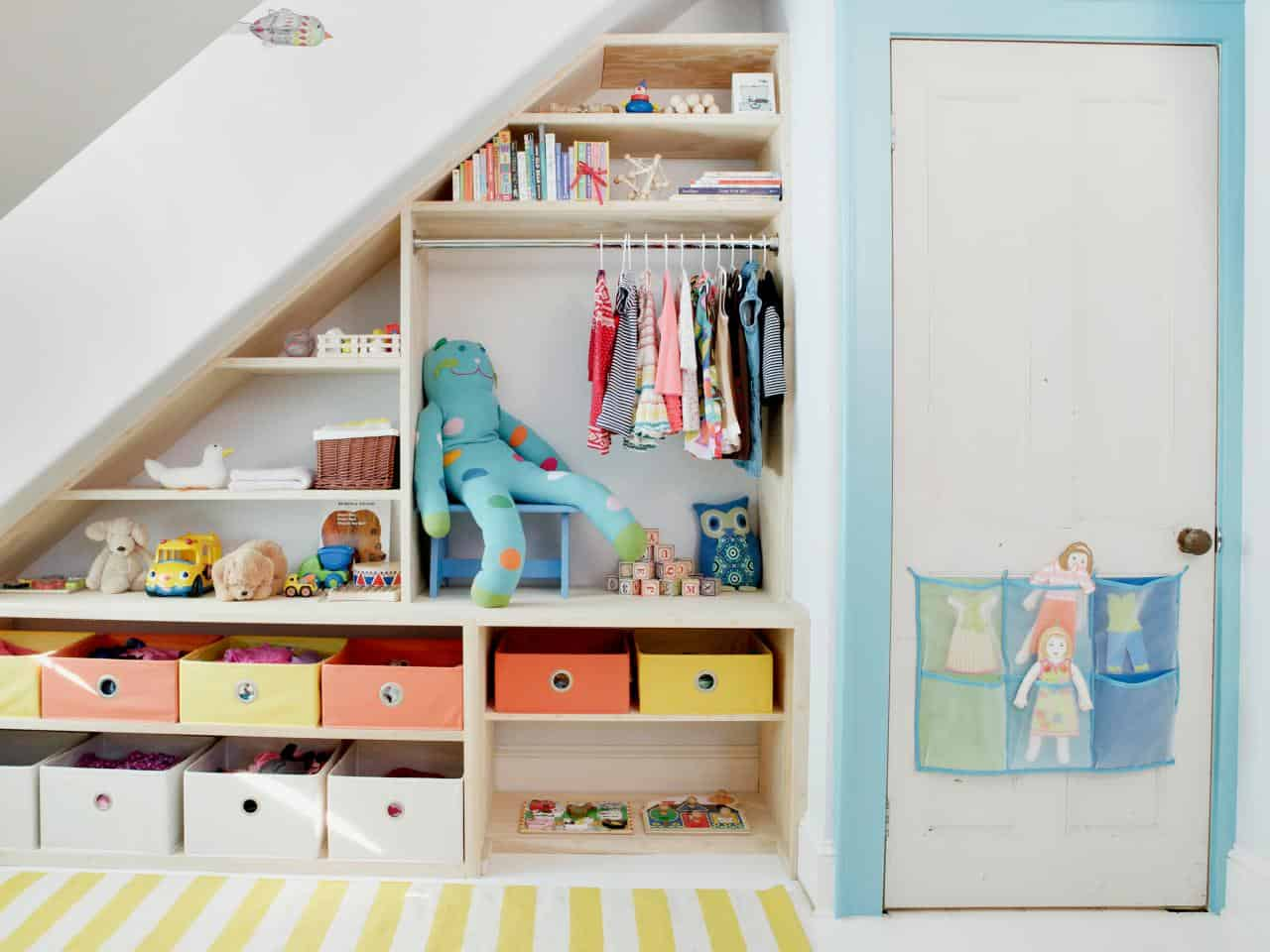 Stairs Shelving Diy Storage Ideas For Small Apartments