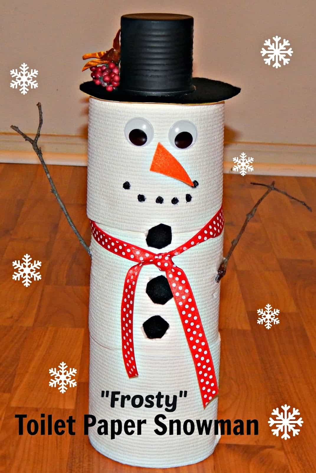 15 Super Fun Snowman Crafts