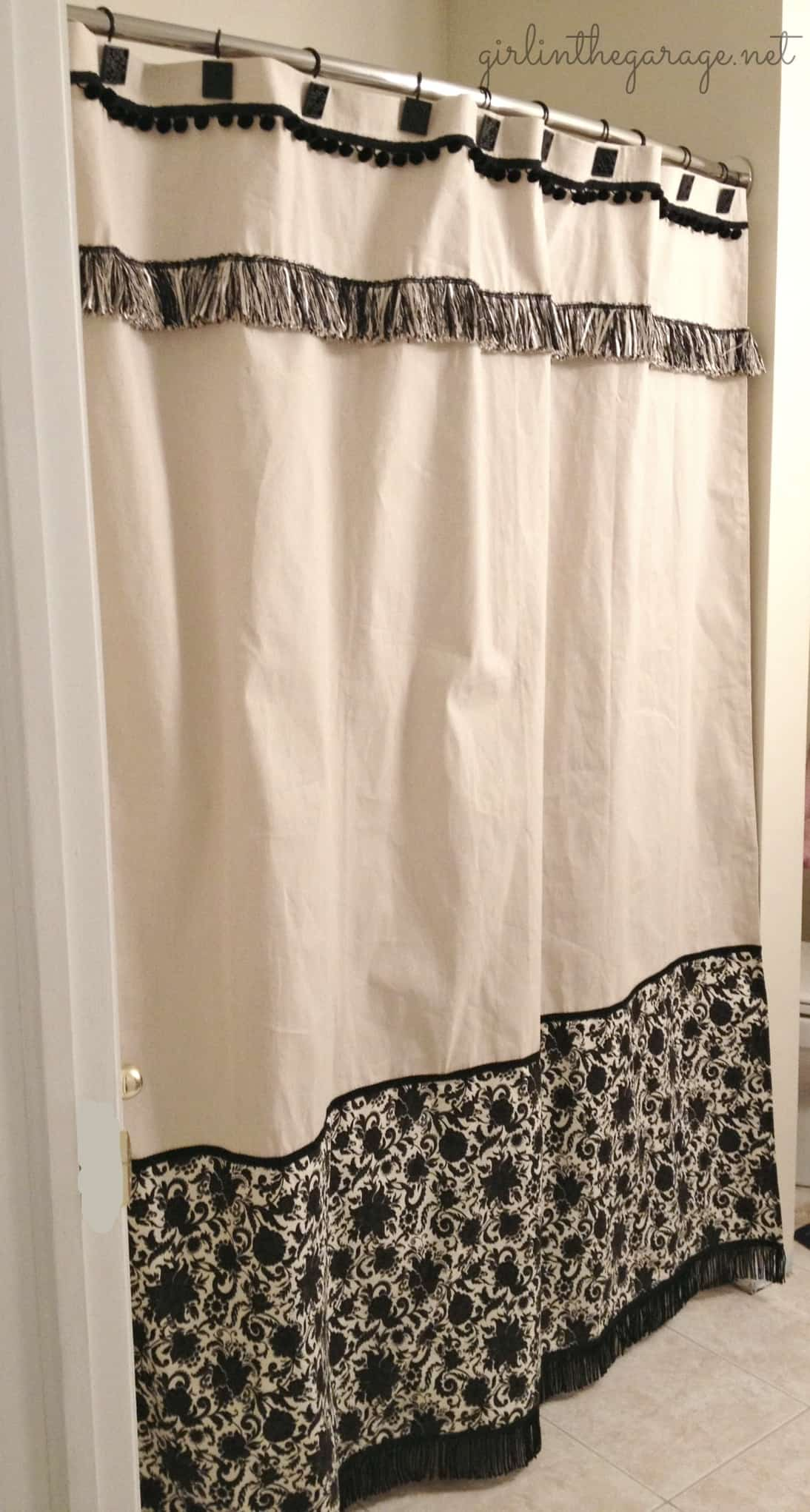 How To Make Shower Curtain Cheap And Easy Diy Shower Curtain Ideas