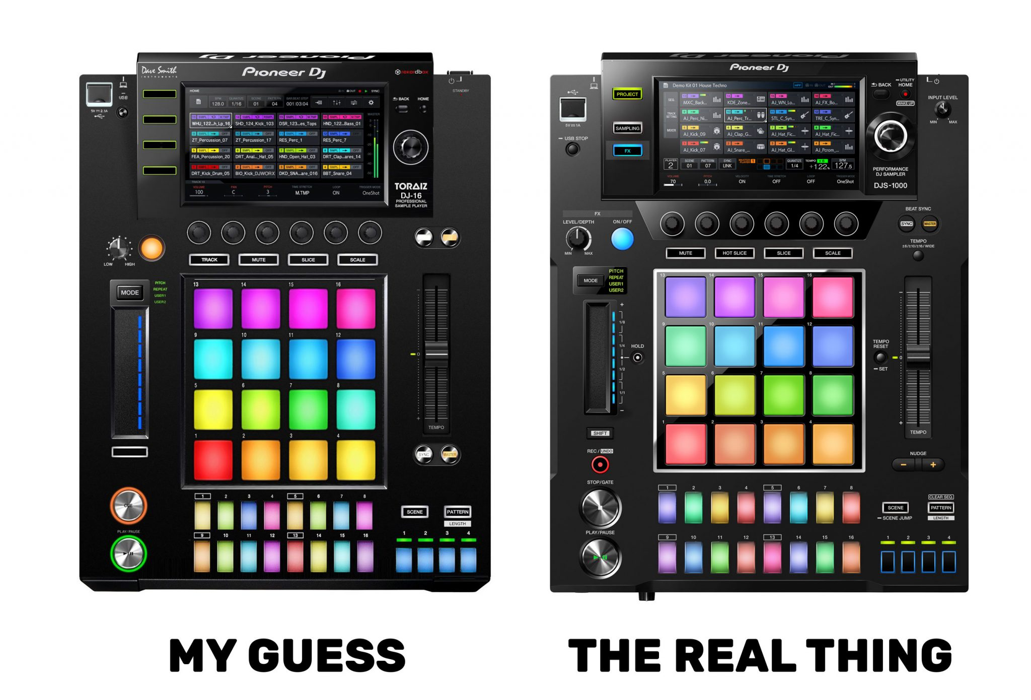 Bad Dj Set It S Real The Djs 1000 Is A Sampler And Sequencer In A Cdj Box