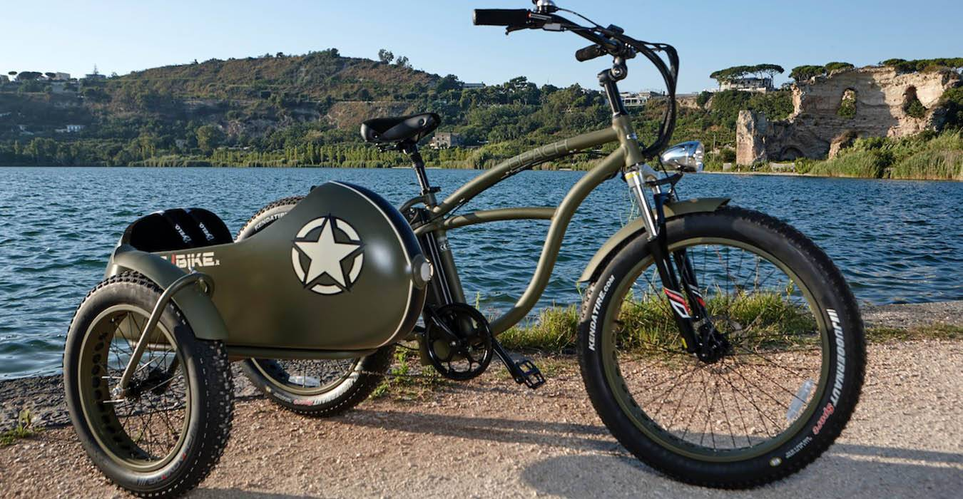 Bad Bike Beach Vintage Side Bad Bike Presenta Al Nauticsud La Prima Side Ebike Al Mondo