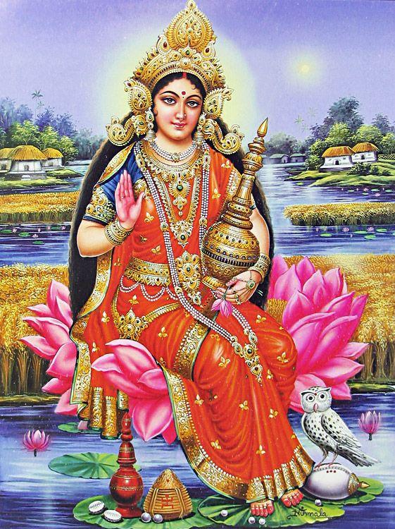 Maa Durga 3d Hd Wallpaper Devi Lakshmi Goddess Of Wealth