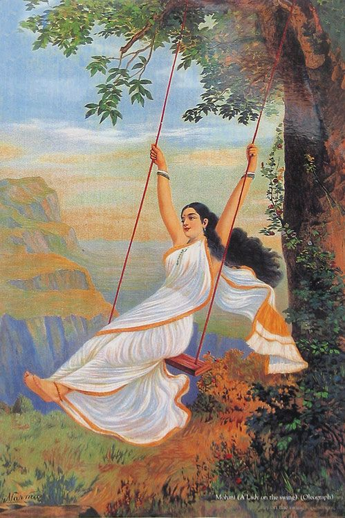 Xxxl Poster Mohini (a Lady On The Swing)