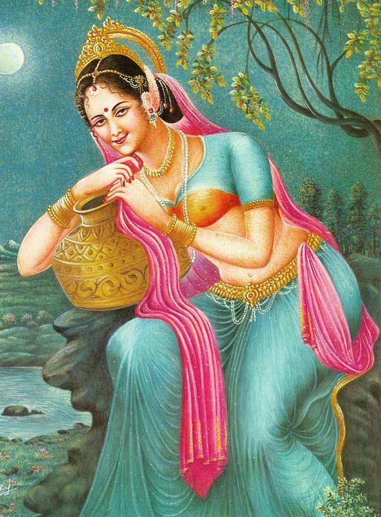 Bangle Girl Wallpaper Indian Beauty With Kalash