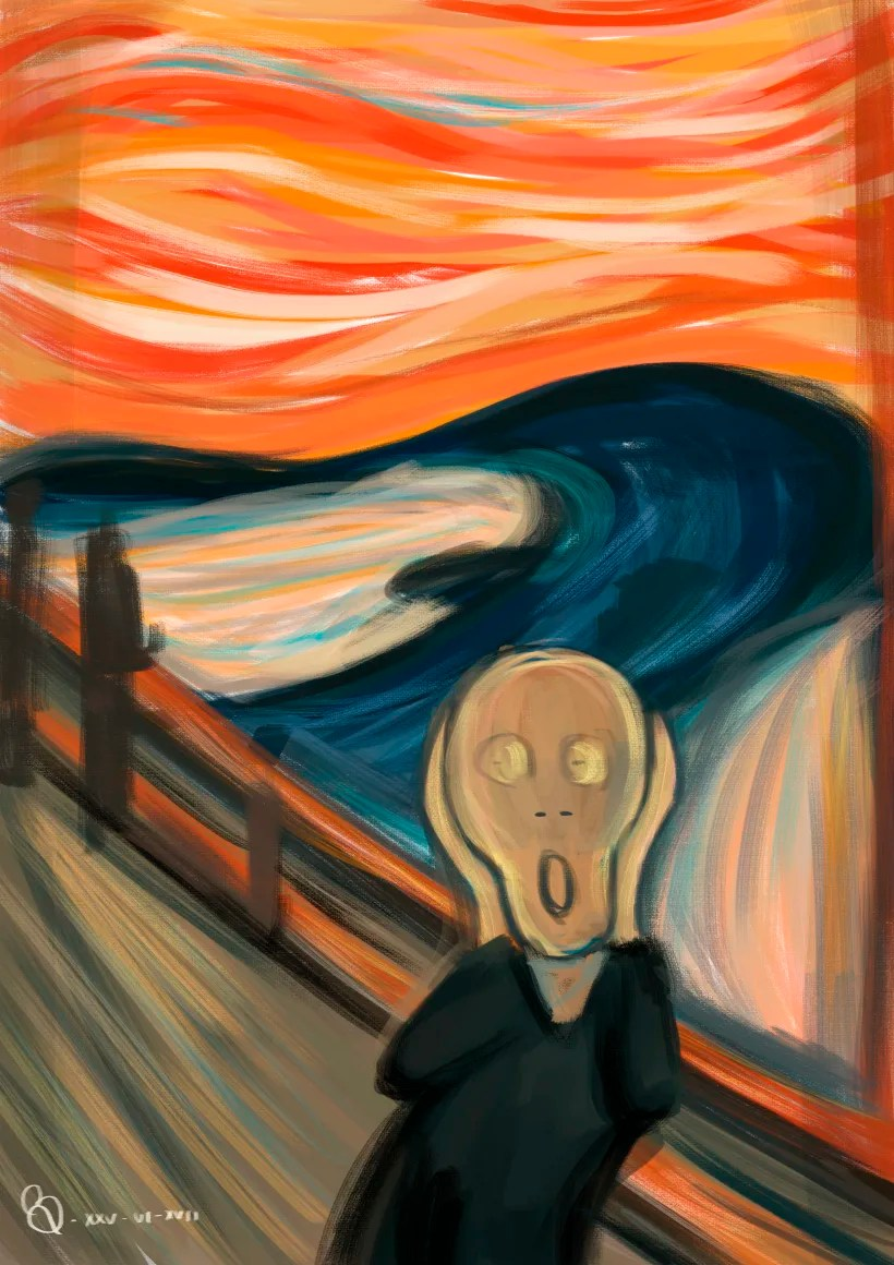 Munch Cuadros The Scream Domestika