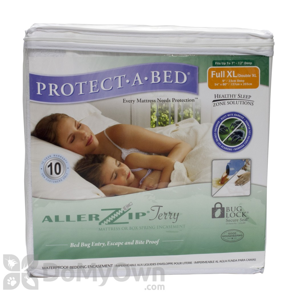 Bed Bug Protection Cover Protect A Bed Allerzip Bed Bug Mattress Cover Full Xl