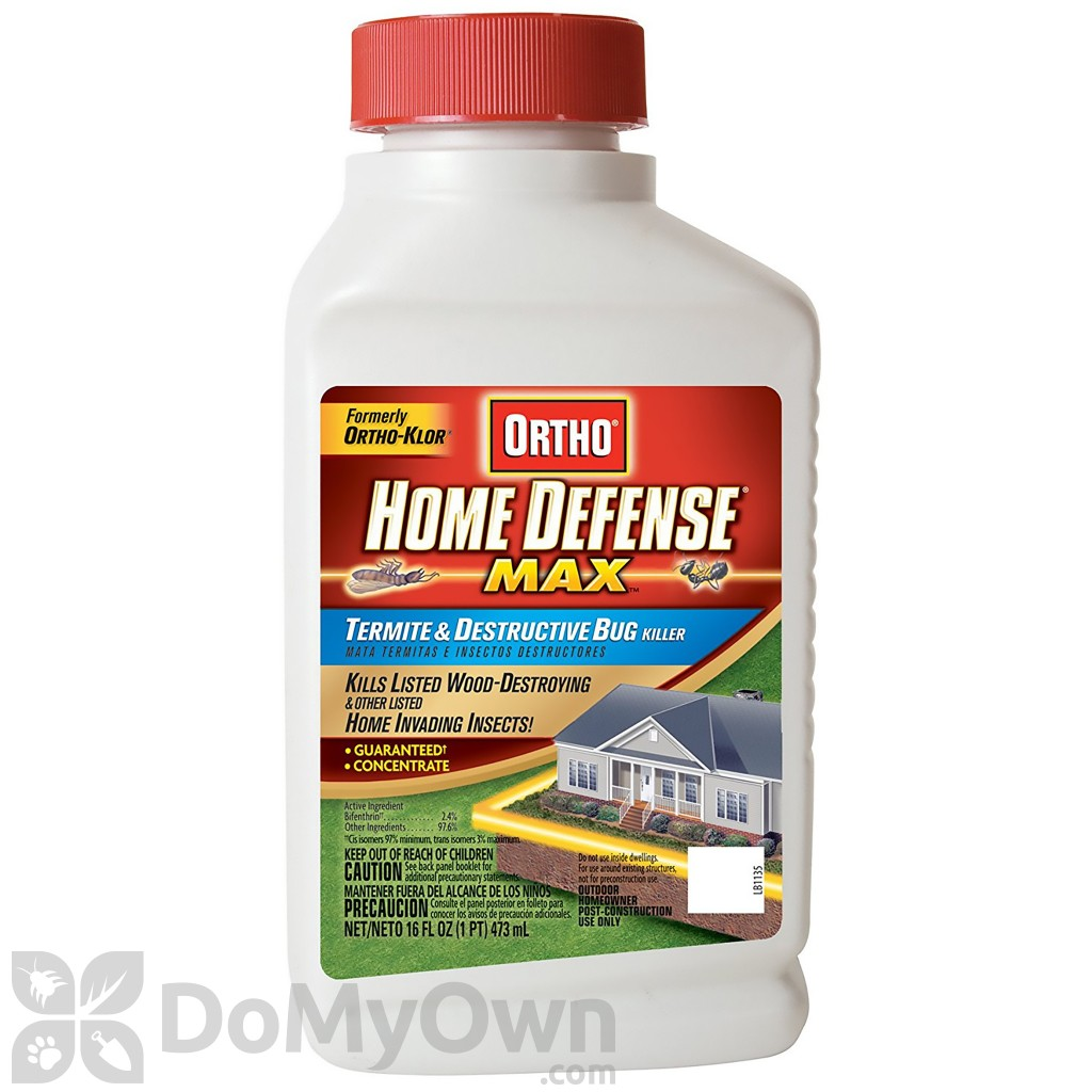 Diy Pest Control Spray Ortho Home Defense Max Termite And Destructive Bug Killer
