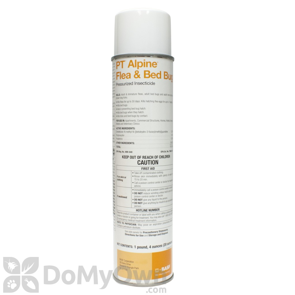 Sprays For Bed Bugs Pt Alpine Flea And Bed Bug Aerosol