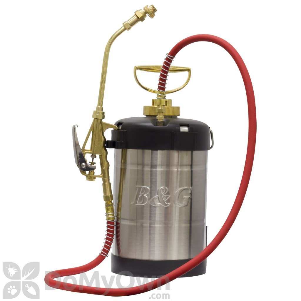 Diy Pest Control Spray B Andg Sprayer 1 Gallon 9 In Wand And Extenda Ban Valve N124 S