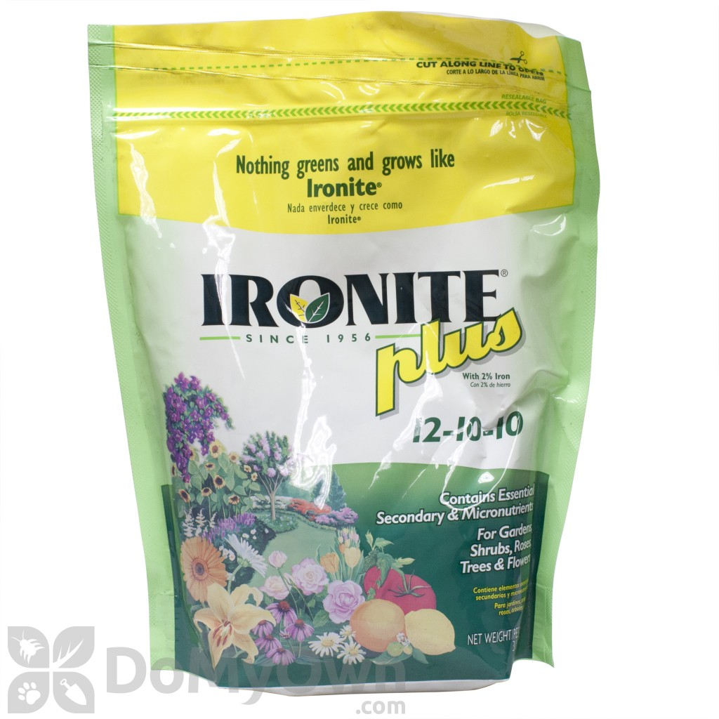 Ironite Ironite Lawn And Plant Food Plus 12-10-10