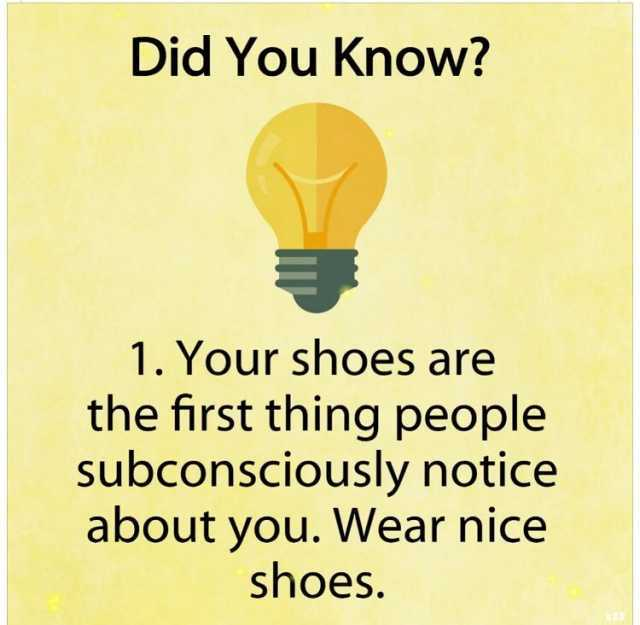 dopl3r - Memes - Did You Know? 1 Your shoes are the first thing