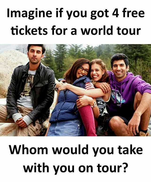 dopl3r - Memes - Imagine if you got 4 free tickets for a world - would 4 free
