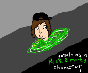 Yourself As A Rick And Morty Character Pio Drawception