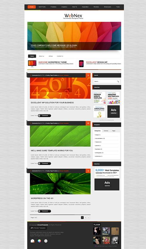 AlumniPress - HTML Template - Web Blog - Corporate - CSS Templates