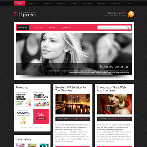 PinkPanther - HTML Template - Web Blog - Corporate - CSS Templates