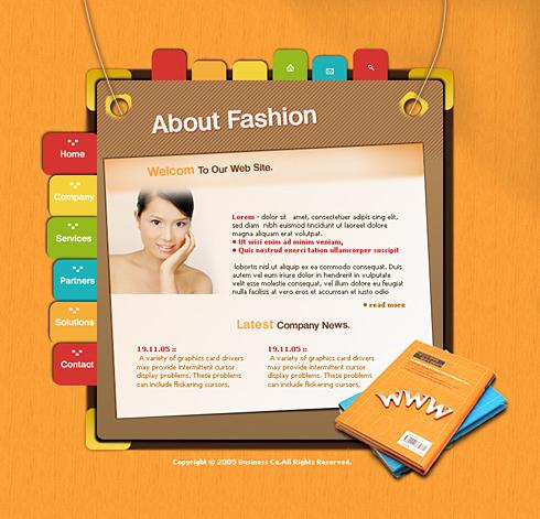 0471 - Personal Development - Website Templates - DreamTemplate