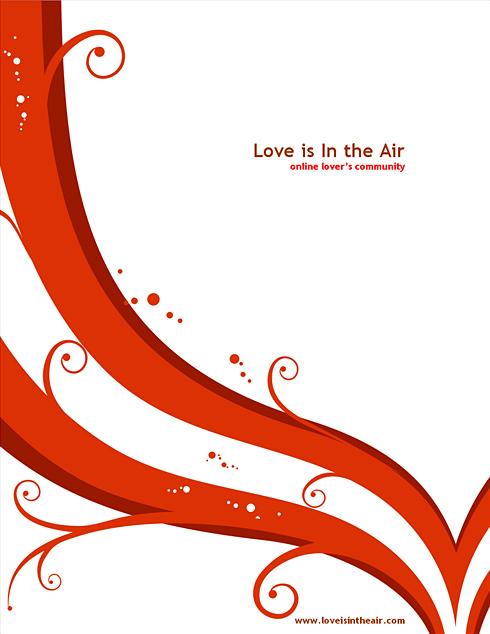1451 - Word - Love  Wedding - Word Templates - DreamTemplate - love templates