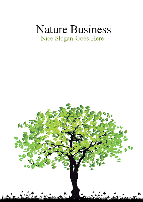 5139 - Word - Nature  Landscapes - Word Templates - DreamTemplate