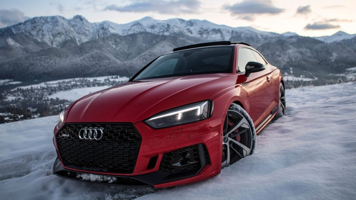 Audi Rs3 Wallpaper Hd 2018 Audi Rs5 Comes Out To Play In The Snow Looks