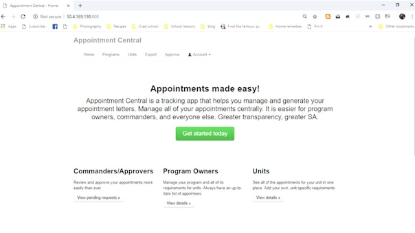 DVIDS - Video - Appointment Letter