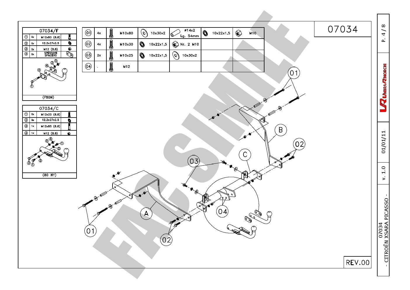 Wiring Diagram For Citroen Xsara Picasso Towbar Auto Electrical
