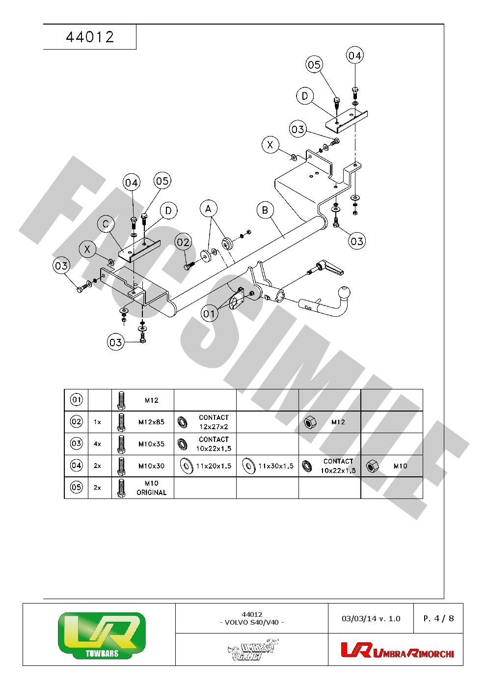 jaeger towbar wiring kit