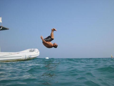 Jumpende Sinan