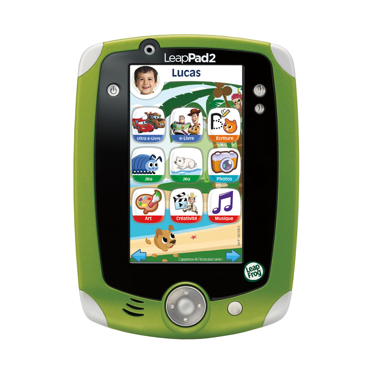 Magasin Console Occasion Leapfrog Leap Pad 2 Vert D 39occasion