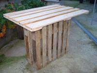 Pallet Bar Table - Easy Pallet Ideas