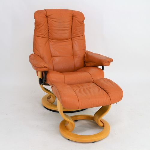 Stressless Sessel Ebay Ekornes Stressless Sessel Mayfair (m) Mit Hocker