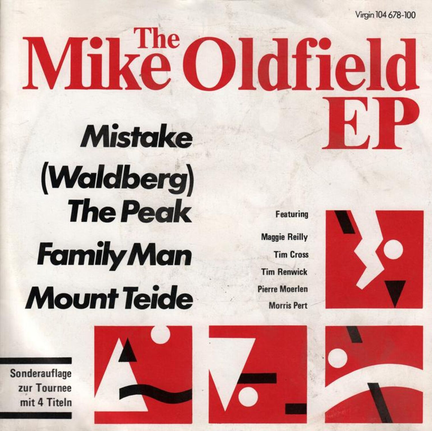 Mike Oldfield Mistake Waldberg The Peak Family Man Mount Teide Ebay