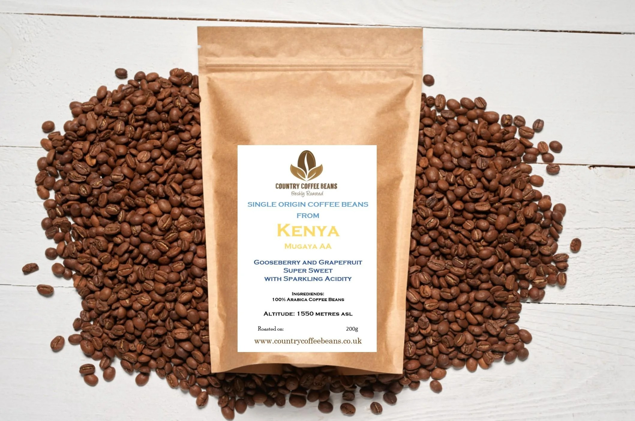 Coffee Arabica In Ethiopia Single Origin Arabica Coffee Beans From Kenya Aa Mugaya