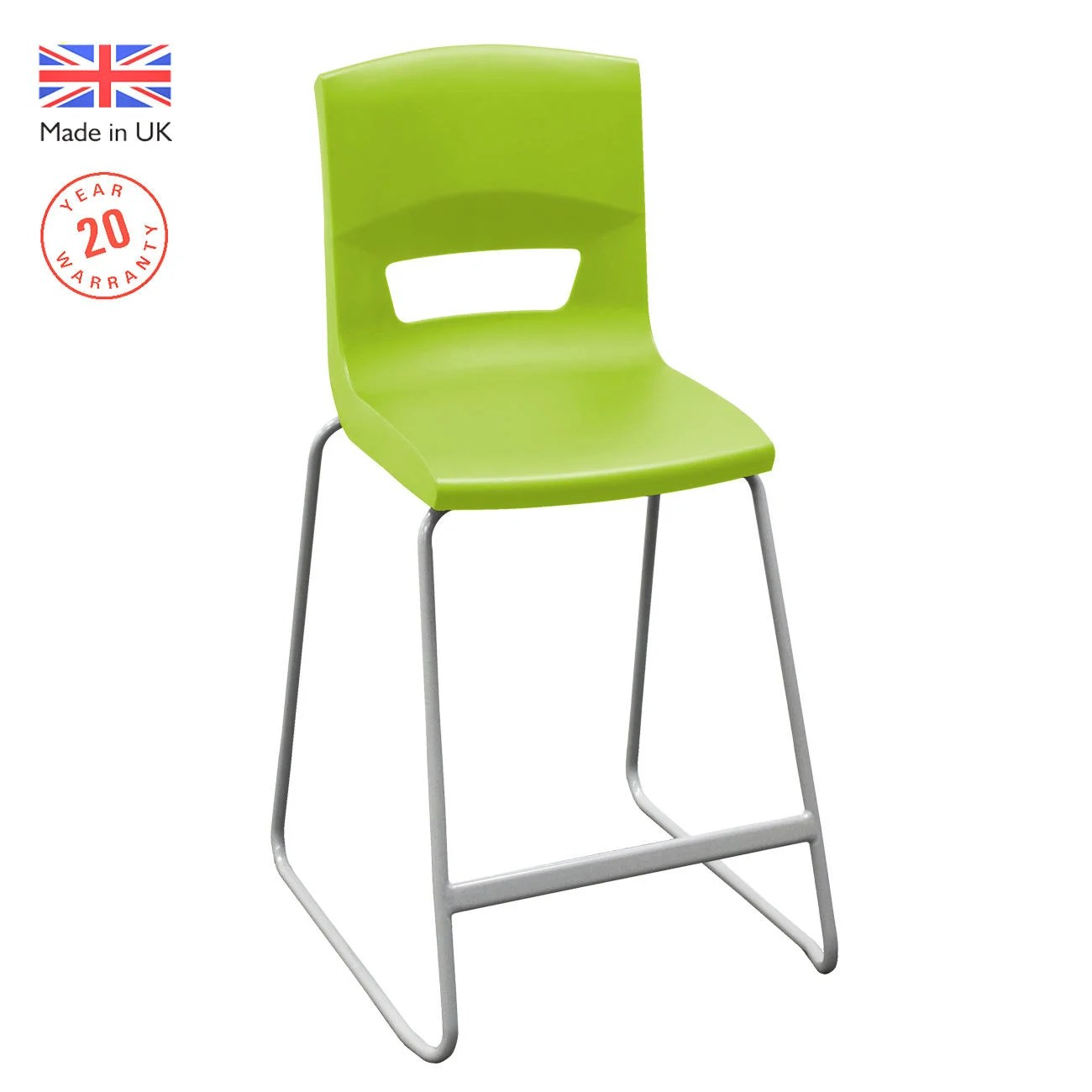 High Back Stools Postura 43 High Back Stool