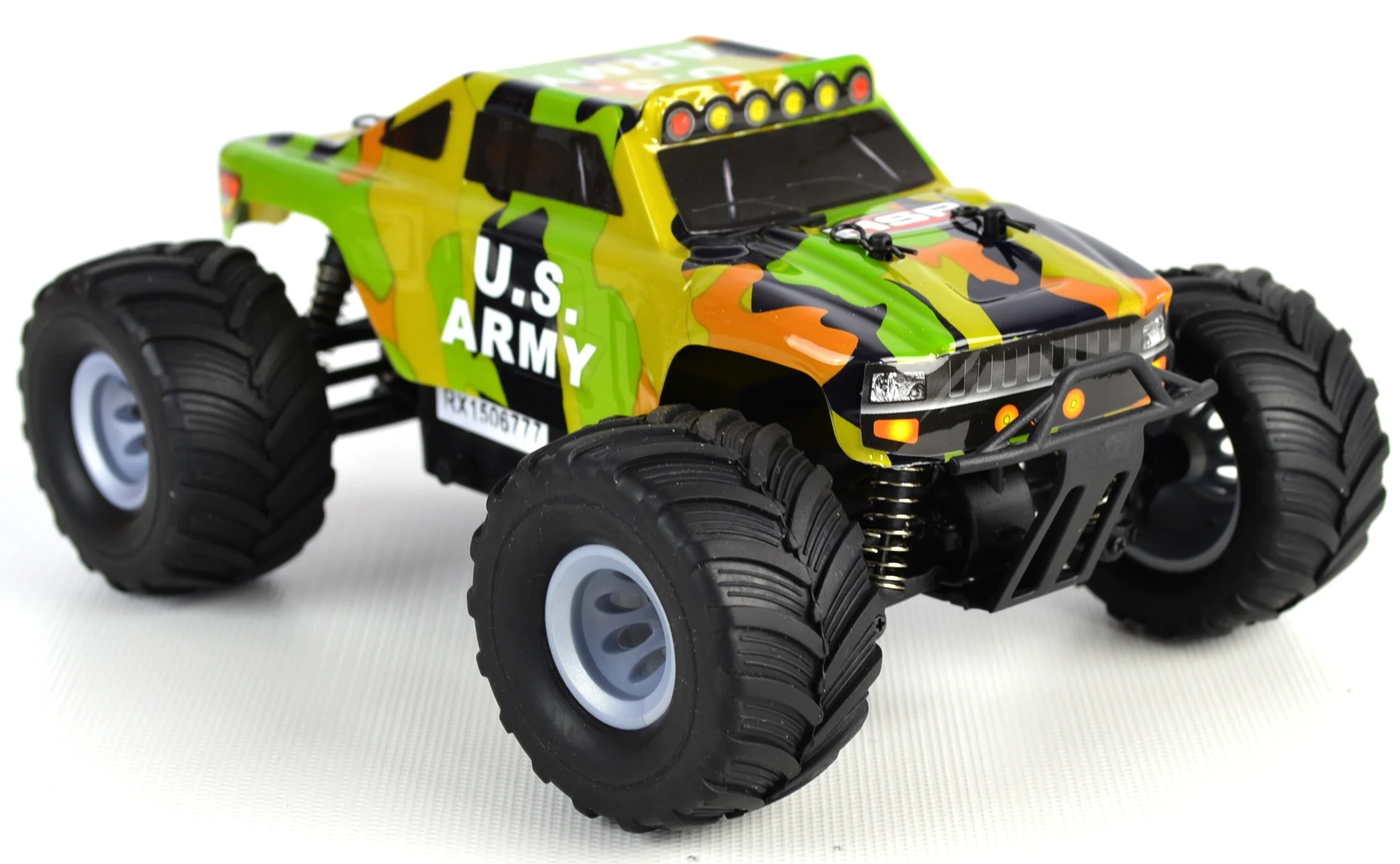 Rtr Rc Trucks Electric Bigfoot 1 24 Electric Rc Car 2 4ghz Rtr Army Hummer Truck