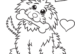 Dog Coloring Pages Printables Educationcom