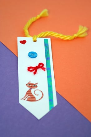 Make Your Own Bookmark Activity Education