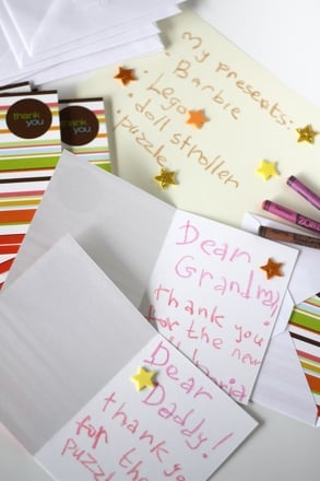 Holiday Thank You Cards Activity Education