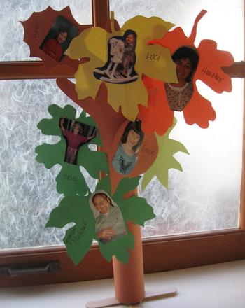 Make a Family Tree! Activity Education