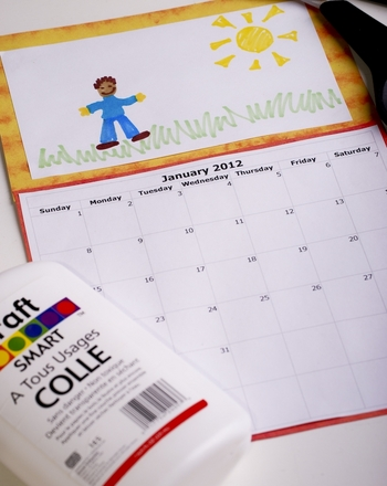Make a Back to School Calendar Activity Education