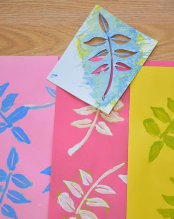 How to Make a Stencil Activity Education