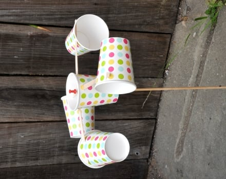 How to Make an Anemometer Science project Education