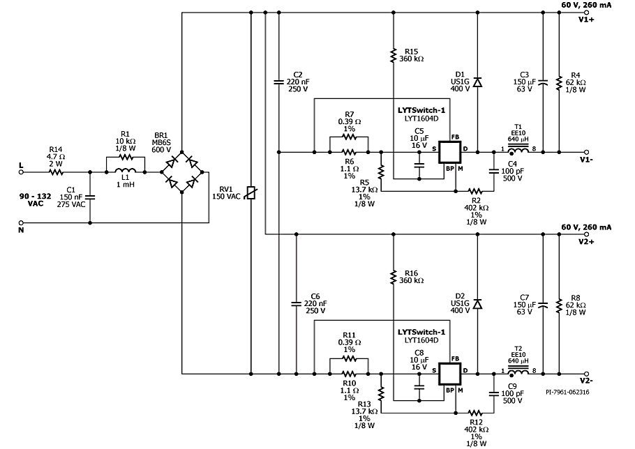 figure 3 photograph of a populated circuit board
