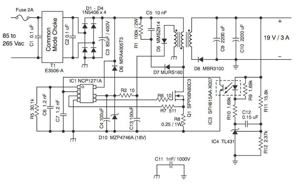 example of application circuit