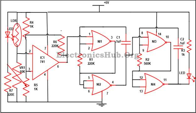 How to Design Electronic Letter Box Circuit? EEWeb Community