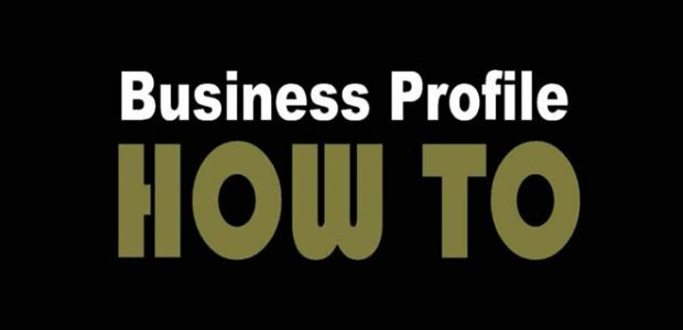 How To Video \u2013 Set Up Business Profile 20 - how to make business profile