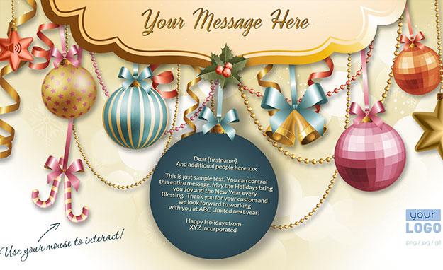 Enteract Christmas eCards, Christmas e-Cards, Christmas Email Cards