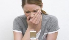Fear of being without or loosing a mobile phone - Nomophobia
